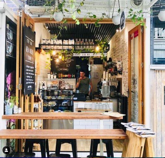 Winn Lane, No. 5 Cafe | Brisbane's best laneways