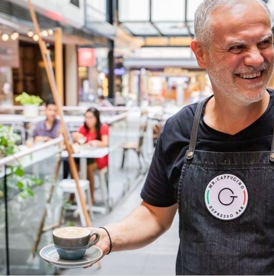 Mr Cappugino coffee shop Albert Lane | Brisbane's best laneways