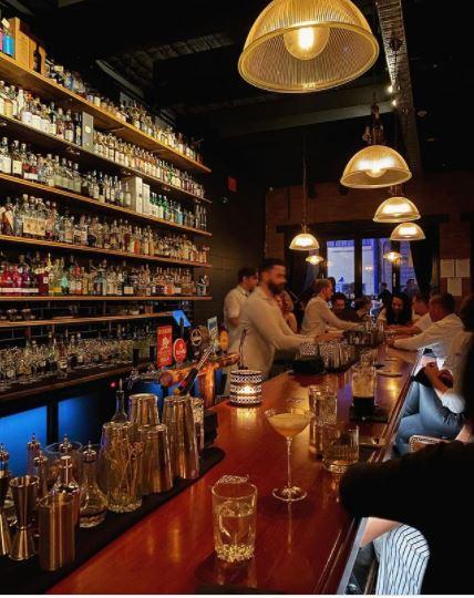 Death and Taxes cocktail bar Burnett Lane | Best laneways Brisbane